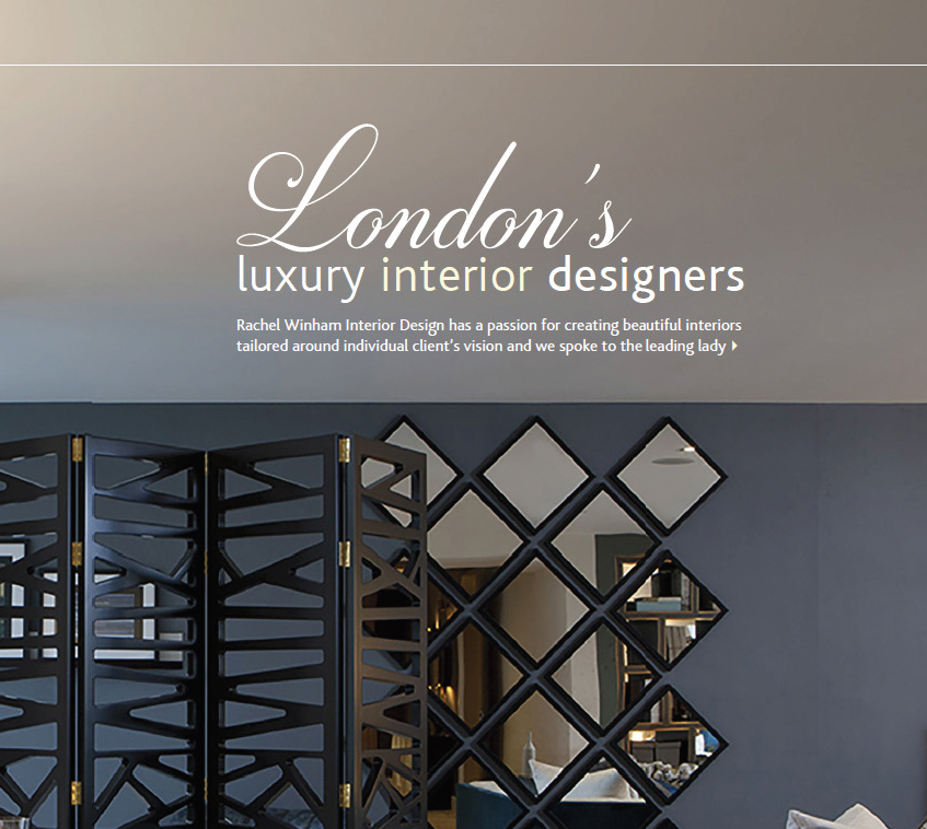 London 39 s luxury interior designers x portfolio rachel winham for Interior design south london